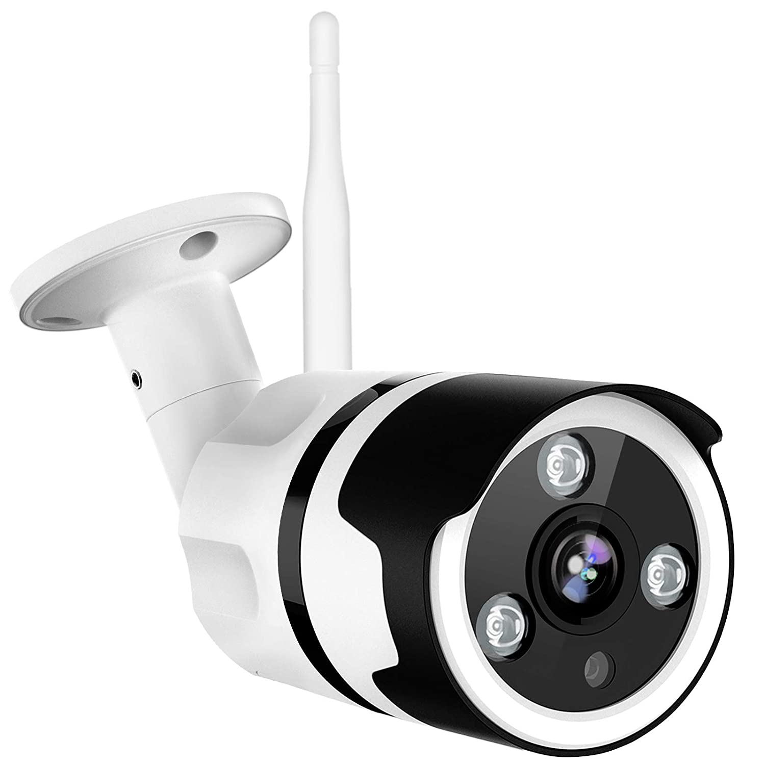 Outdoor Security Camera, Netvue 1080P Wifi Bullet Surveillance Camera Two-Way Audio, IP66 Waterproof, FHD Night Vision, Motion Detection, Home Security