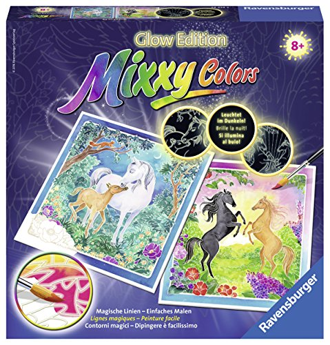 Ravensburger Mixxy Colors Malen 29439 - Treue Pferde