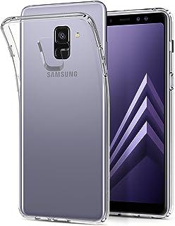 Spigen Samsung Galaxy A8 PLUS (2018) Liquid Crystal A8+ cover/case - Crystal Clear