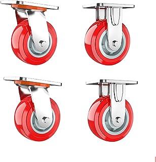 Rem universeel wiel directioneel wiel stil wiel 4 inch 5 inch 6 inch 8 inch dragende 1600 pond caster accessoires zware ba...