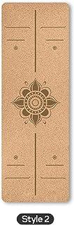 Esterilla yoga-pilates corcho 100%
