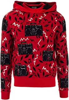 SAINT LAURENT Luxury Fashion Womens 585476YAHG26193 Red Sweater | Fall Winter 19