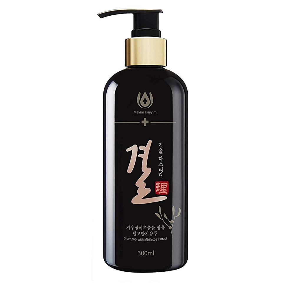 [MayimhayyimBio] Gyeol Shampoo for Scalp Trouble Care and Anti Hair Loss with Mistletoe Extract. Promotion Hair Growth, Scalp Anti-Aging, Making hair thicken and Hair Treatment (300ml)