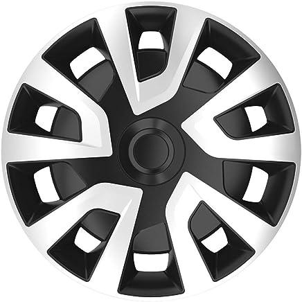 Autostyle Silver/Black Jeu Du0027enjoliveurs Revo Van 16 Inch Argent/