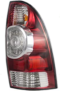 Taillight Tail Lamp with LED Center Lens Passenger Replacement for 05-15 Toyota Tacoma Pickup Truck 8155004160
