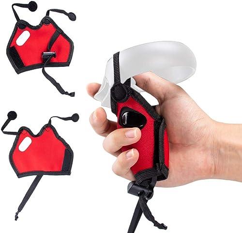 NEWZEROL Housse de contrôleur pour Oculus Quest VR Housse de Protection Lavable conçue pour Le contrôleur d'écran Tac...