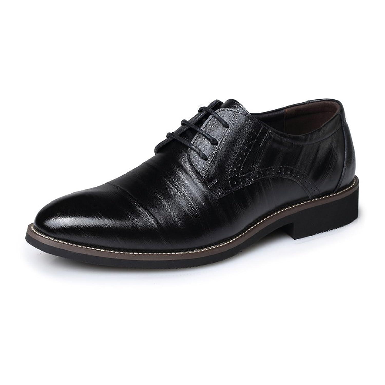 [MUMUWU] ビジネスシューズ 紳士靴 レザー クラシック 夏 革靴 柔軟 メンズ 靴 ドライビング シューズ ビジネスシューズ