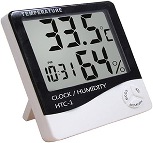 Generic Desk Or Wall Mount All In One Digital Alarm Clock Thermometer Calendar