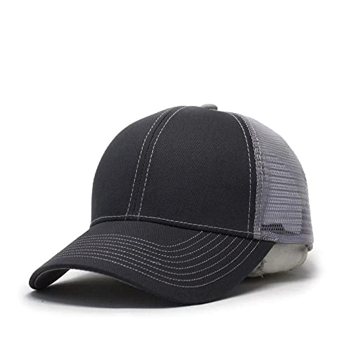 Vintage Year Plain Two Tone Cotton Twill Mesh Adjustable Trucker Baseball Cap Men\u0027s Hats: Amazon.com