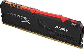 Kingston 8GB HyperX Fury DDR4 3733 Mhz Black RGB PC Memory Module