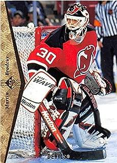 Martin Brodeur hockey card (New Jersey Devils Hall of Fame) 1994 Upper Deck #63