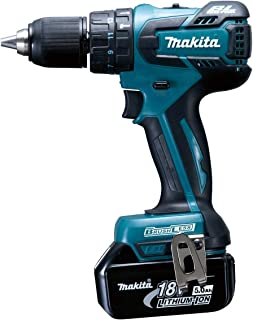 Makita DHP459RTJ Cordless Combi Drill - Cordless Combi Drills (Black, Blue)