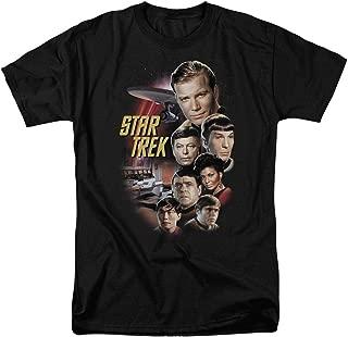 Star Trek Crew Classic TV Show T Shirt & Stickers