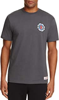 Mitchell & Ness Men's Los Angeles Clippers Wordmark NBA Logo Tee