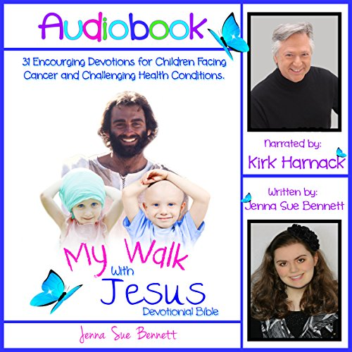 My Walk with Jesus Devotional Bible audiobook cover art