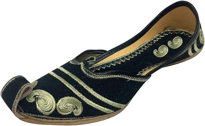 Step n Style Punjabi Jutti Khussa shoes Sandal Slipper Mojari Women Flip Flop Ballet