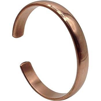 Amazon.com: Copper Bracelet for Arthritis - Guaranteed 99.9% Pure Copper  Magnetic Bracelet Men + Women 6 Powerful Magnets Effective Natural Joint  Pain Relief, Arthritis, RSI, Carpal Tunnel. (1 Bracelet): Clothing
