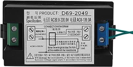 𝐍𝐞𝒘 𝐘𝐞𝐚𝐫𝐬 𝐆𝐢𝐟𝐭𝐬AC 80-300V LCD Voltmeter Ammeter Power Energy Meter Volt Amp Power Kwh Meter