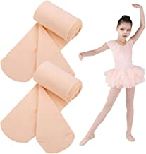 Dance Tights for Ballet Girl,Footed Convertible Transition Sheer Tight,Toddler Stocking Pantyhose