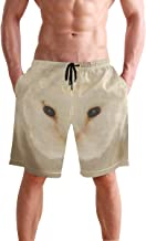 Mens Shorts Cute Owl Running Short Sports Trousers for Boys