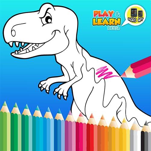 Kids Dinosaur Coloring Book - Características Completas Set Crianças Livros Dinossauro de graça!