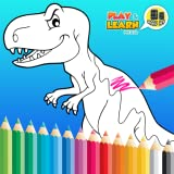 Kids Dinosaur Coloring Book - Fonctionnalités complètes Définir les livres de dinosaures pour enfants gratuitement!