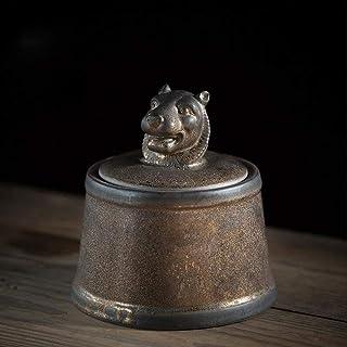 AFDK Del recuerdo por Soul urnas, urnas de cremación de cerámica, juego para una pequeña cantidad de cenizas humanas, así como para los animales domésticos, Perfecto recuerdo, K,H