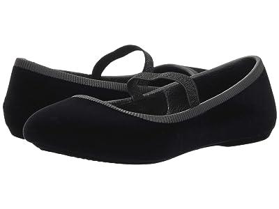 Native Kids Shoes Margot Velvet (Little Kid) (Jiffy Black) Girls Shoes