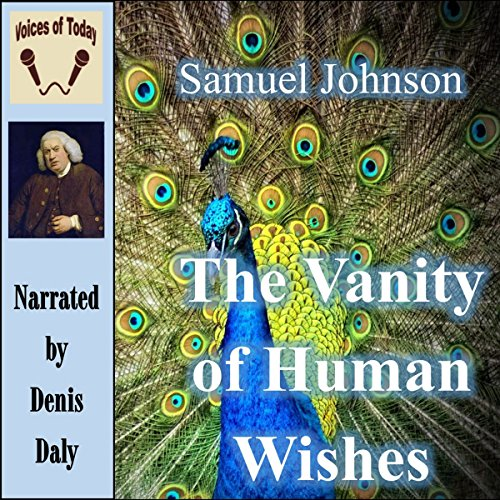 The Vanity of Human Wishes audiobook cover art