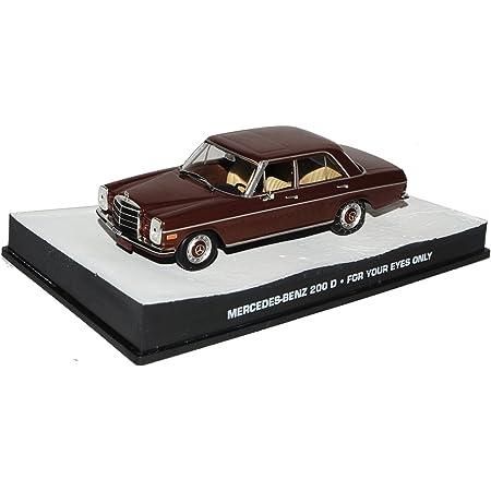 Alles Meine De Gmbh Unbekannt Mercedes Benz 200 8 Strich Acht Limousine Weiss W114 W115 1967 1976 1 43 Modellcarsonline Modell Auto Spielzeug