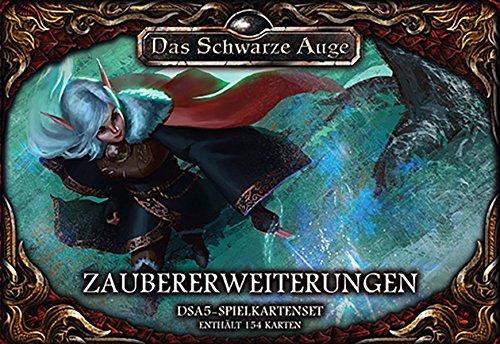 DSA5 Spielkartenset Aventurische Magie Zaubererweiterungen (Das Schwarze Auge - Zubehör)