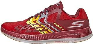 Go Run Razor 3 Red/Orange Men's 7, Women's 8.5