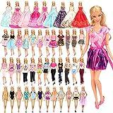 Miunana 16 Vêtements de Poupée 5 Vêtements Habits Chics + 5 Robes en Vogue + 3 Robes de Cérémonie Robe de Soirée + 3 Maillots de Bain pour Poupée Fille de 11,5 Pouce