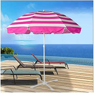 10 Ribs 42 Inches Men Automatic Opening and Closing,Mt Hood Covered in A Pink Misty Sunset,Windproof RLDSESS Pink Outdoor Umbrella Ladies Rainproof