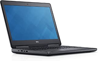 "Dell PRM75208CMP7 Precision 7520 Mobile Workstation with Intel i7-6820HQ, 8GB 256GB SSD, 15.6"" (Renewed)"
