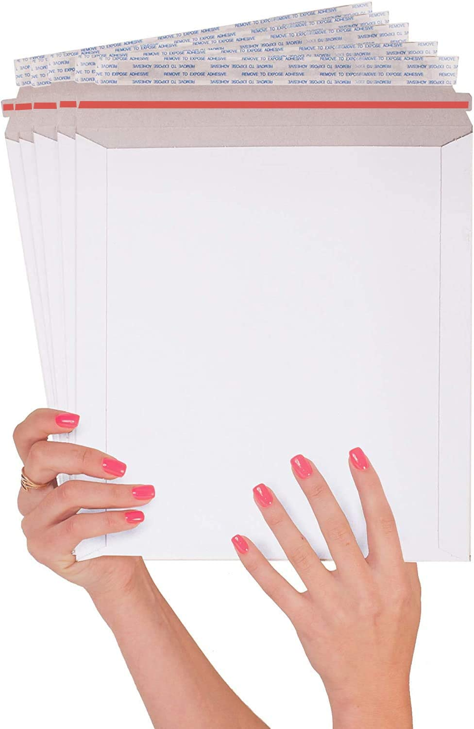 25 Pack Rigid Ranking TOP8 Mailers 9.75 x Large Max 89% OFF Paperboard Envelopes 9 12.25