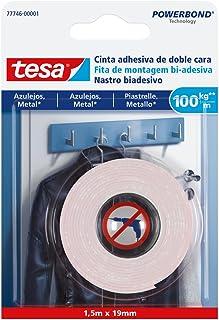 TESA 77746-00001-00 Cinta doble cara para azulejos y metal 100 kg/m