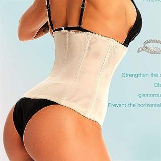 RZDJ Waist trainer Shapers Women Garment body shaper Shapewear Girdle Belt Slimming Underwear tummy control corset faja Slimming Belt (Color : Beige, Size : 5XL)