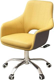 Rullande skrivbordsstol Datorstol Skrivbordstolar med hjul Tjock sittdyna Förbättrar hållning nu och nacksmärta för vuxna ...