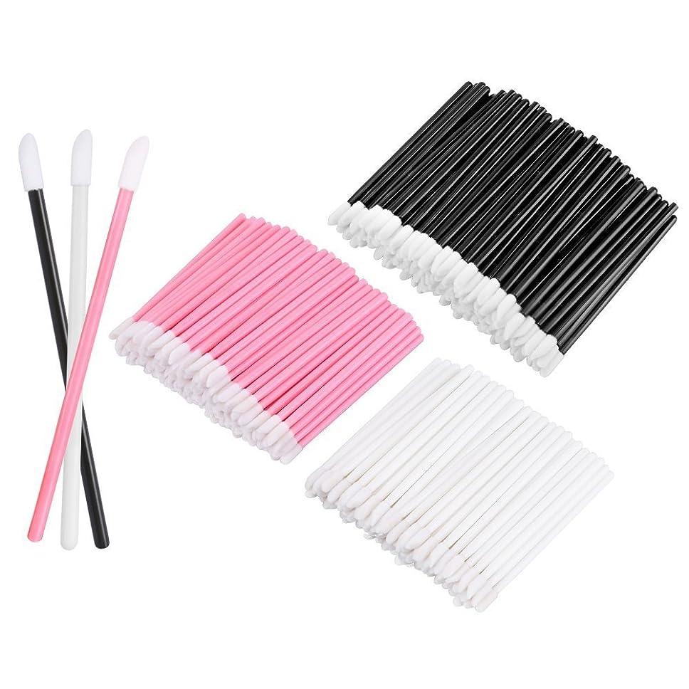 効能ある呼び出す配列KEDSUM リップブラシ 使い捨て 300本入り メイクブラシ 化粧用品 化粧筆 化粧ブラシ 携帯用 便利