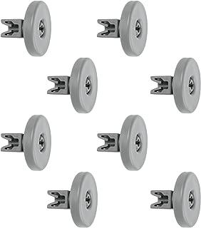 Spares2go Basket Rack Wheels For Blomberg Dishwasher Large, Pack Of 8
