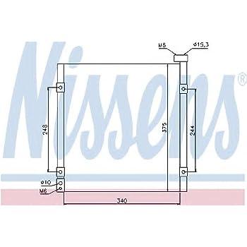 NISSENS 94758 Kondensator Klimaanlage