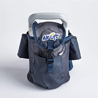 Roscoe Medical Liquid Oxygen Fanny Pack/Shoulder Bag - Portable Oxygen Tank Holder Bag for Small Liquid Portables, Navy Blue