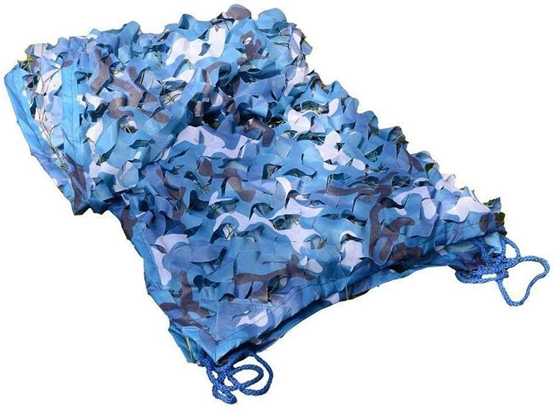 YANFEI Camouflage net Tarnnetz, Ocean Camouflage Digitales Sonnenschutznetz Dekorationsnetz Sonnenschutznetz (Größe   7mx7m)