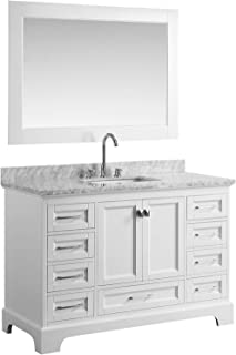Peachy Amazon Com White Bathroom Vanities Bathroom Sink Download Free Architecture Designs Scobabritishbridgeorg