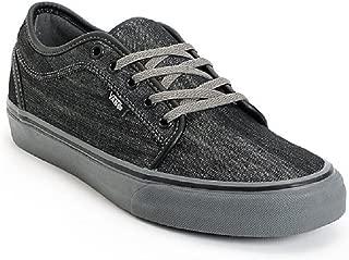 Vans Mens Chukka Low (Denim) Black/Pewter Skateboarding Shoes
