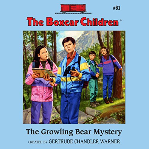 The Growling Bear Mystery audiobook cover art