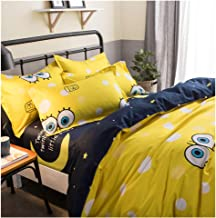 ORIHOME Twin Bed Set Duvet Cover Set Cartoon Printing– 3 Piece Bedding Sets One Duvet Cover (No Quilt) Two Pillowcase– Soft Microfiber Teen Bedding for Kid Bedroom (Big Eyes Baby, Twin,66''x86'')