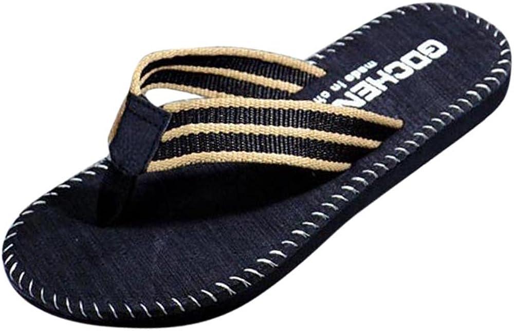 WSVVMQY Arch Support Slippers Women Womens Flip Flops Men Summer Flip Flops Shoes Sandals Male Slipper Flip-flops Red,Khaki