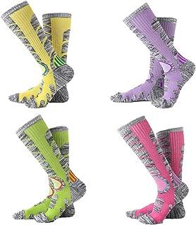 Ski Socks Mens Womens High Performance Warm Skiing Socks Hiking Outdoor Winter Sport Socks